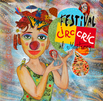 El Circo de los Inéditos y Cartel Circ Cric. A Illustration, Editorial Design, and Graphic Design project by Gemma Navidad         - 18.03.2015