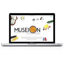 Diseño web - Museion . A UI / UX, Graphic Design, Web Design, and Web Development project by Sandra Sanz         - 26.03.2015