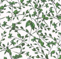 Flores 1/PATTERN. Um projeto de Design, Ilustração, Design editorial, Moda, Design gráfico, Design de interiores e Packaging de Maria Pagola Domec         - 29.03.2015