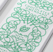 Chocolates de Mendaro. A Graphic Design, Illustration, T, and pograph project by Fernando Orellana - 03.31.2015