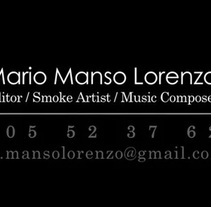 Showreel. A Advertising, Film, Video, TV, and Post-Production project by Mario Manso Lorenzo         - 06.04.2015