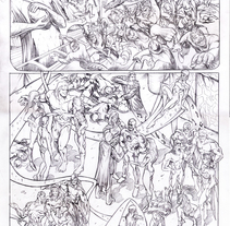 FEMFORCE #127 (AC Comics) PUBLISHED PAGES . A Illustration, Character Design, and Comic project by Pablo Alcalde  - Apr 07 2015 12:00 AM