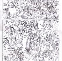 FEMFORCE #127 (AC Comics) PUBLISHED PAGES . Un proyecto de Comic, Diseño de personajes e Ilustración de Pablo Alcalde  - Martes, 07 de abril de 2015 00:00:00 +0200