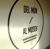 Interactiu al Museu del Disseny de Barcelona. A UI / UX, Graphic Design&Interactive Design project by david  lasheras  - 14-12-2014