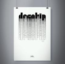 "Espécimen tipográfico ""decotip"". Um projeto de Design gráfico de Laura Rodríguez García         - 13.04.2015"