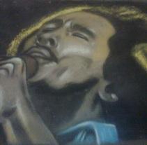 Bob Marley. A Fine Art project by Andrés López         - 26.02.2015