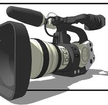"""[Imagine TV] Operador de cámara en programa """"Área Técnica"""". Un proyecto de Fotografía, Cine, vídeo, televisión y Vídeo de Carlos Martínez Martin - 16-04-2015"""
