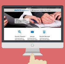 Página web para abogados. A UI / UX, and Web Design project by Isabel García Ferro         - 18.04.2015