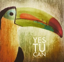 Yes, Tu can. A Illustration project by Chencho Jiménez         - 19.04.2015