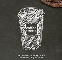 coffee&naan. A Design, Illustration, Br, ing, Identit, Packaging, and Web Design project by Virginia Tortosa Sanz         - 03.05.2015