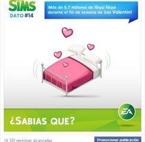 Infografias por el 15 aniversario de Los Sims. A Advertising, Events, Marketing, Cop, writing, and Social Media project by Gracia Gutiérrez         - 04.02.2015