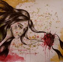 De la sangre. Um projeto de Ilustração, Artes plásticas e Pintura de Carmina Pascual         - 06.05.2015
