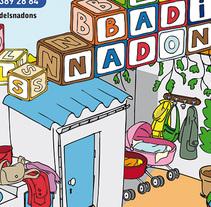 El Badiu dels Nadons. A Illustration, and Graphic Design project by Ivan Sala Valero         - 08.05.2015