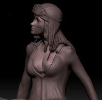 Mi Proyecto del curso Modelado de personajes en 3D. Un proyecto de Diseño de personajes de aikira         - 31.12.2015