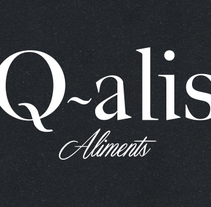 Q-alis. A Design, Advertising, Br, ing, Identit, Graphic Design, Product Design, and Web Design project by ivan mayoral         - 13.05.2015