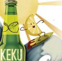 Proyecto del curso Ilustración exprés con Illustrator y Photoshop (Akeku).. A Illustration project by Alicia Tapia         - 17.05.2015