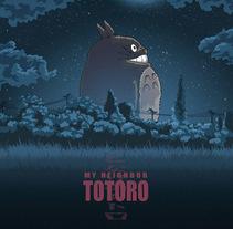 My Neighbor Totoro. Un proyecto de Ilustración, Animación, Diseño gráfico y Cine de Enrique Núñez Ayllón - 23-01-2015