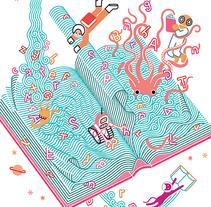 XVI Salón del Libro de Pontevedra. A Fine Art, Design, Graphic Design, Education, Illustration, and Advertising project by Carlos Arrojo - Dec 01 2014 12:00 AM