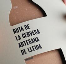 Ruta de la Cervesa. Un proyecto de Br e ing e Identidad de SOPA Graphics           - 21.05.2015