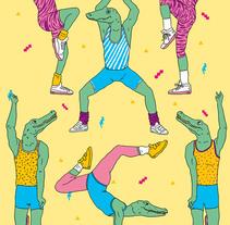 Just Can't Get Enough. Un proyecto de Ilustración y Diseño gráfico de Miriam Muñoz         - 31.03.2015