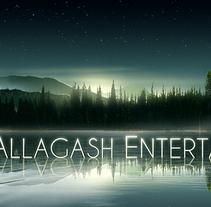 Allagash Entertainment logo. Um projeto de Ilustração e Design gráfico de pablo iranzo         - 27.10.2014