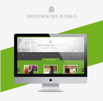 Defensor del Pueblo, web & Responsive Design. A Design, UI / UX, Art Direction, Br, ing, Identit, Graphic Design, Web Design, and Web Development project by Juan Manuel Durán         - 27.05.2015