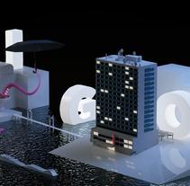 VIGO - Mi Proyecto del curso Dirección de Arte con Cinema 4D. Un proyecto de 3D, Dirección de arte y Diseño gráfico de Jacobo Pérez-Bouzada         - 28.05.2015