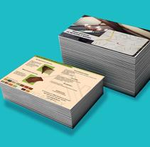 Folletos varios. A Design project by Irene Ramírez Ruiz         - 02.06.2015