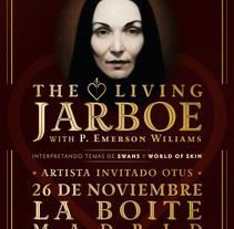 The Living Jarboe. Un proyecto de Diseño gráfico de Cristo Aleister™  - Jueves, 10 de octubre de 2013 00:00:00 +0200