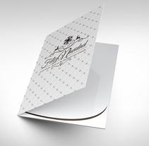 Diseño tarjeta felicitación. Un proyecto de Diseño gráfico de Antonio Manuel Algar         - 02.06.2015