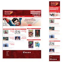 Central City Comics. Um projeto de Design gráfico e Web design de Juliana Muir         - 28.07.2014