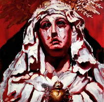 Mater dolorosa. A Crafts, Fine Art, and Painting project by César Bravo Sánchez - 21-06-2015