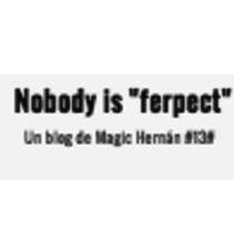 No body Is Ferpect. A Web Design project by Adolfo Hernán Martínez - 18-08-2014