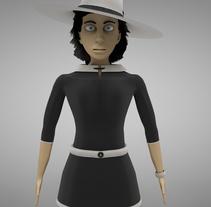 3D CHARACTER. Um projeto de Design, 3D e Design de personagens de Rebeca G. A         - 28.06.2015