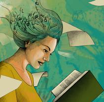Feria del Libro (Santa Cruz de Tenerife). Un proyecto de Diseño e Ilustración de Nisamar  González Mederos - 01-07-2015