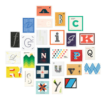 36 days of stamps. A Graphic Design, Illustration, T, and pograph project by Gonzalo Sainz Sotomayor - 07.06.2015