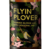 Flying' Plover, etiqueta para cerveza. A Illustration, Packaging, Illustration, and Packaging project by Eva Delaserra - 07.12.2015