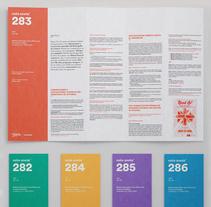 Boletín nota anota¯. Un proyecto de Br, ing e Identidad, Diseño editorial y Diseño de la información de Rubén Montero - 13-07-2015