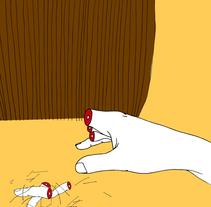 Te dije: córtame medio dedo.. A Illustration project by María Bravo Guisado         - 15.07.2015