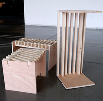 Tres en raya | Sobre mesas. Um projeto de Design de móveis e Design de produtos de Javier Albañil Mogollón         - 26.03.2015