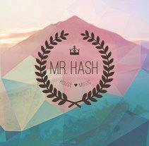 Mr. Hash Electro music advertisement. Um projeto de Design, Música e Áudio, Br, ing e Identidade e Design gráfico de Natalia Beato Pérez         - 20.07.2015