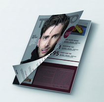 Diseño gráfico_Revista. Un proyecto de Diseño gráfico de Sagrario González López         - 20.07.2015