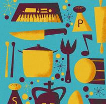 EXPO RETRATOS BREVES + MAGOYA. Un proyecto de Dirección de arte e Ilustración de Jhonny  Núñez - Viernes, 24 de julio de 2015 00:00:00 +0200