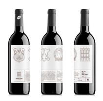 Etiqueta de vino de El Palauet. A Art Direction, Graphic Design&Illustration project by Croma Studio  - 07.27.2015