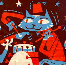 Cartel - La Grapa 2015. Un proyecto de Diseño, Ilustración, Publicidad, Música, Audio, Dirección de arte, Eventos y Diseño gráfico de Pablo Lacruz - Lunes, 03 de agosto de 2015 00:00:00 +0200