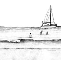 Dibujando Menorca. Un proyecto de Ilustración y Bellas Artes de Javier Usón         - 06.08.2015
