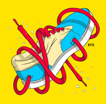 Shoes. A Illustration, and Graphic Design project by Nyto Sandoval         - 07.08.2015