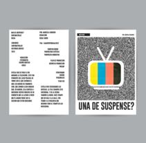 Cortometraje, Una de suspense?. Un proyecto de Cine, vídeo, televisión, Dirección de arte y Diseño gráfico de María Constanza Lastra - 10-08-2015