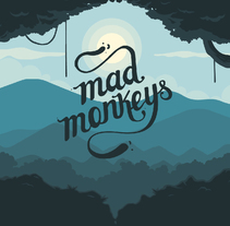 MAD MONKEY STUDIO. A Illustration, UI / UX, Graphic Design, and Web Design project by Ervin         - 12.08.2015