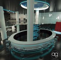 Discoteca_. A Design, 3D, Architecture, Interior Architecture&Interior Design project by Alberto Gonzalez Olmos         - 22.09.2015